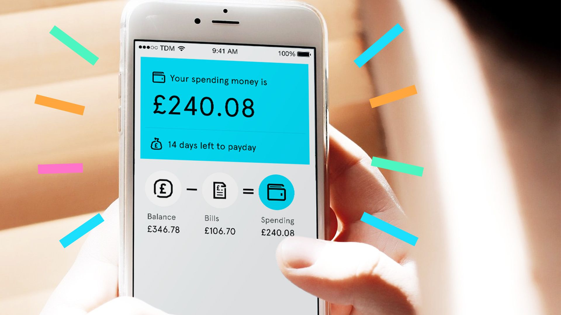 The Tandem App To Help You Manage Your Money Showing You How Much You Can Spend Each Month With Subscription Trackers App Managing Your Money Spending Money