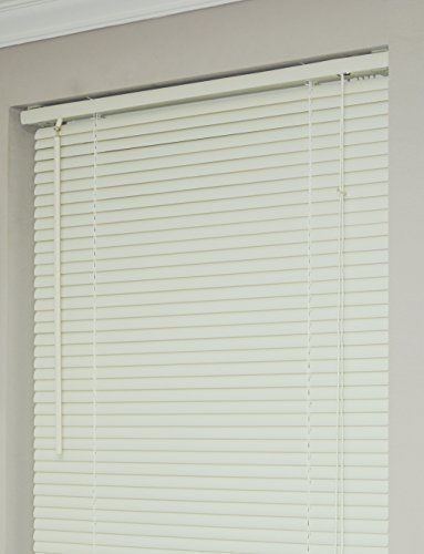 Achim Home Furnishings Morning Star 1 Inch Mini Blinds 24 By 64 Inch Alabaster Vinyl Mini Blinds Blinds For Windows Mini Blinds