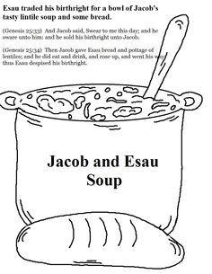 Jacob & Esau | Bible Class | Sunday school, Sunday school