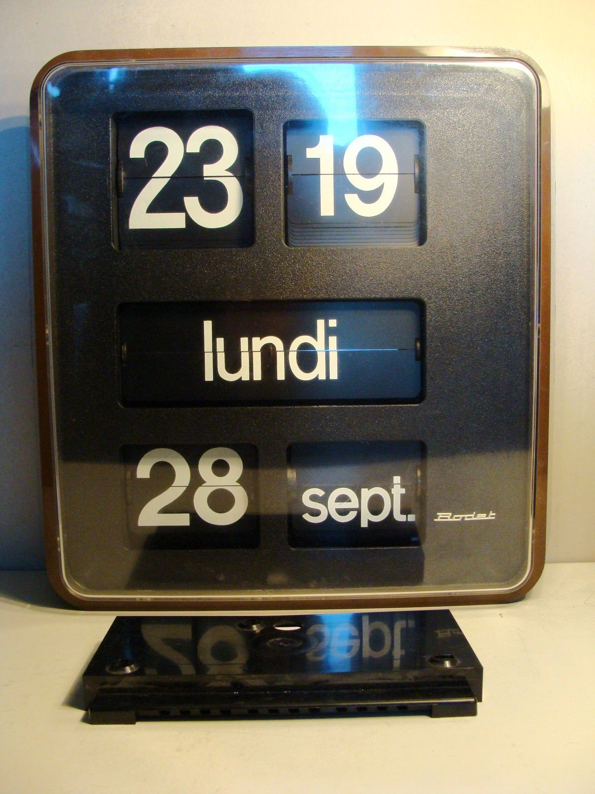 Horloge Radio Pilotée Led Pendule Digitale Murale Awesome Pendule Digitale Bayard