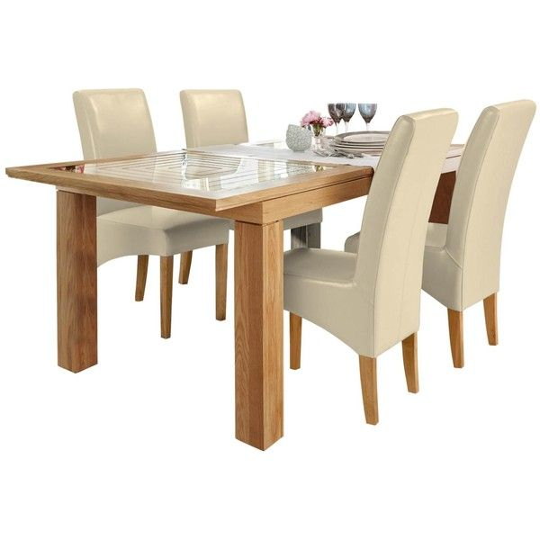 Willis Gambier Maze Large extending table and 4 Fletton chairs (\u20ac410