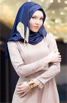b817e15a586 Verza Sultan Şal 1707 Lacivert | Tesettür Giyim | Moda, Şal ve Giyim
