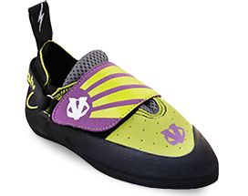Youth 158980: Evolv Venga Climbing Shoe - Kids-Lime Green-1 BUY IT NOW ONLY: $44.95