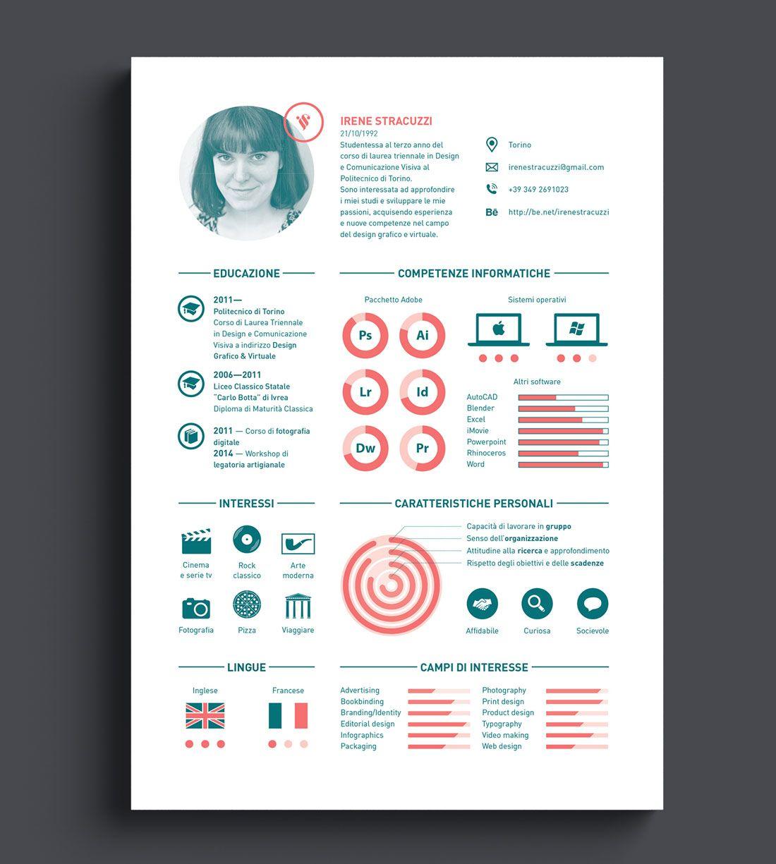 10 Interactive Creative Resumes - http://www.csswinner.com/blog ...