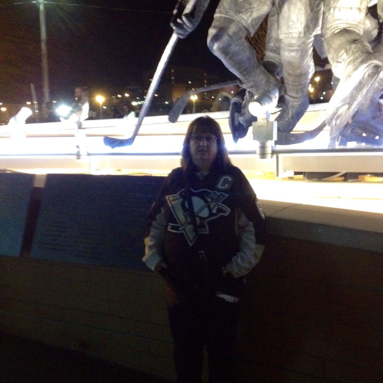 At the consol arena in Pittsburgh