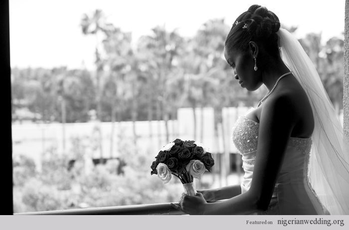 African American. Black Bride. Wedding Hair. Natural Hairstyles. Nigerian Brides- What Sets Them Apart From The Rest? | Nigerian Wedding