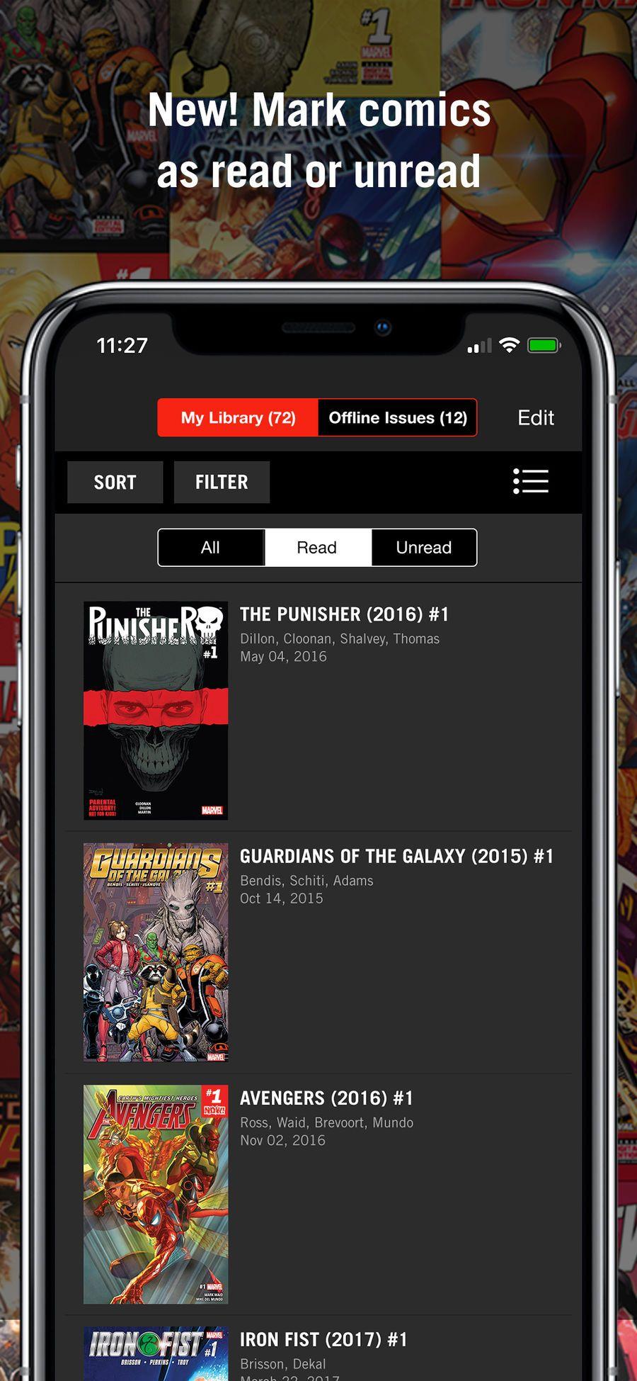 Marvel Unlimited iosappsappBooks Marvel unlimited