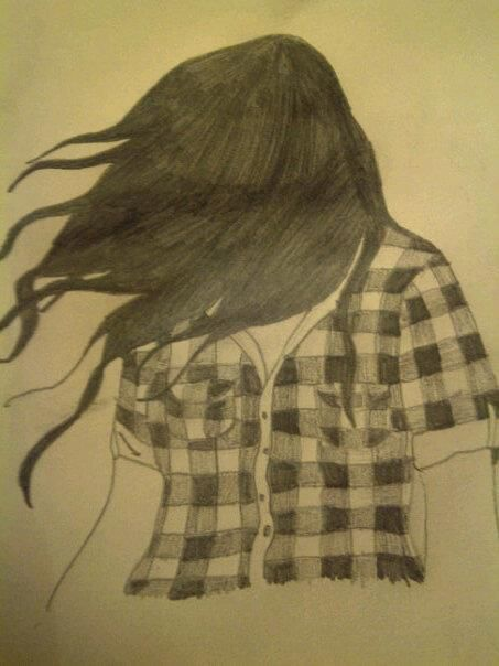 My Pencil Sketch Of A Girl With No Face Pencil Drawings Drawings Pencil Sketch
