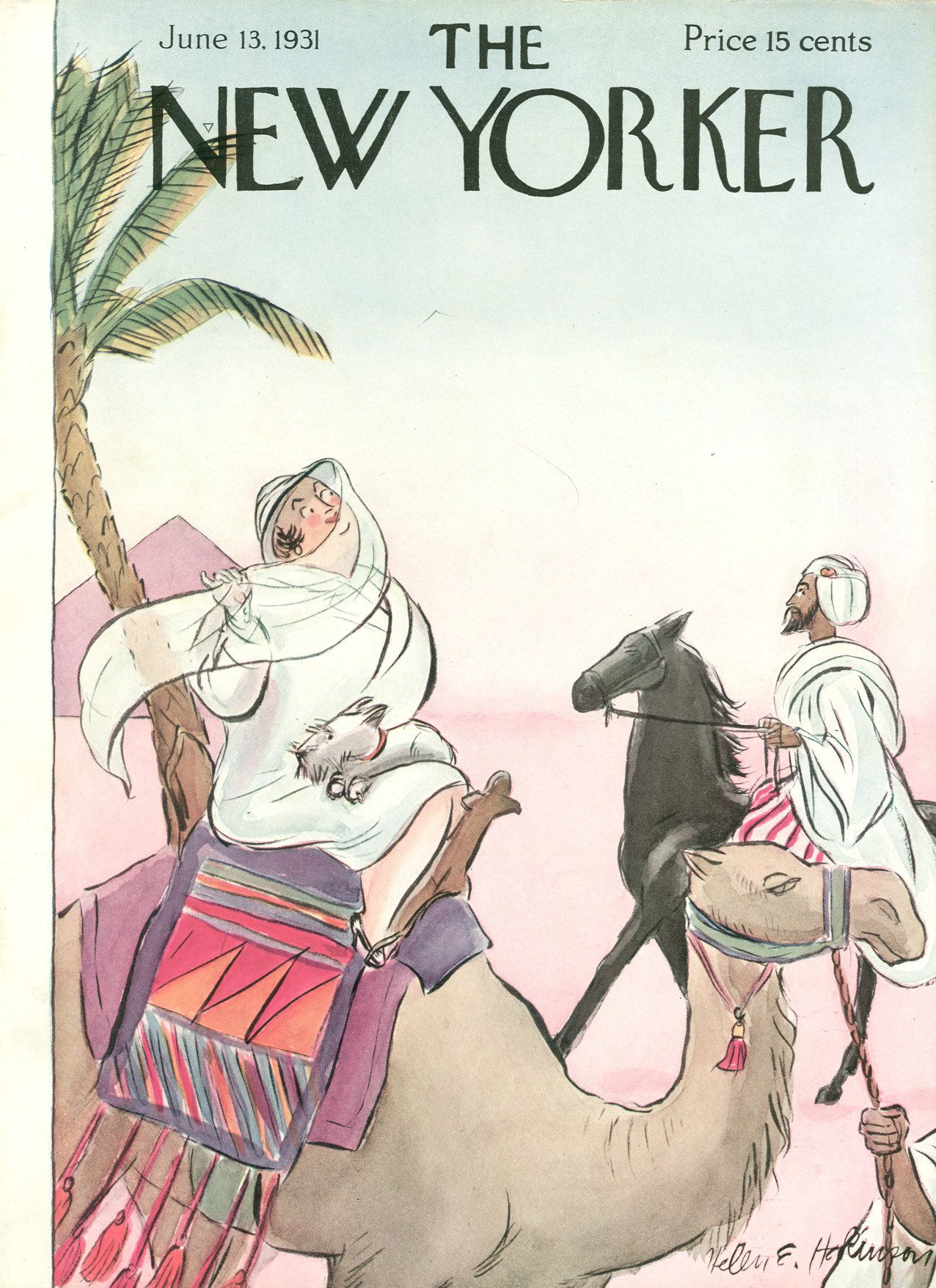 The New Yorker - Saturday, June 13, 1931 - Issue # 330 - Vol. 7 - N° 17 - Cover by : Helen E. Hokinson