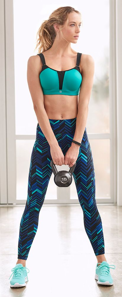 402fddeed6 Soma Max Support Wireless Sport Bra Citrine And Black. The best workouts  start with the best workout gear. Soma