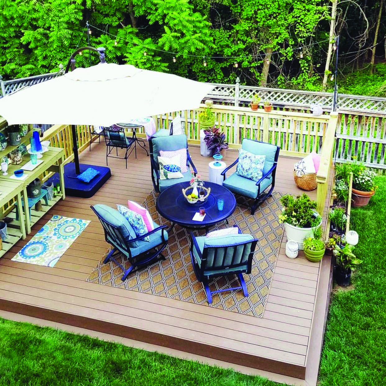 26 Floating Deck Design Ideas: Floating Deck Style Concepts
