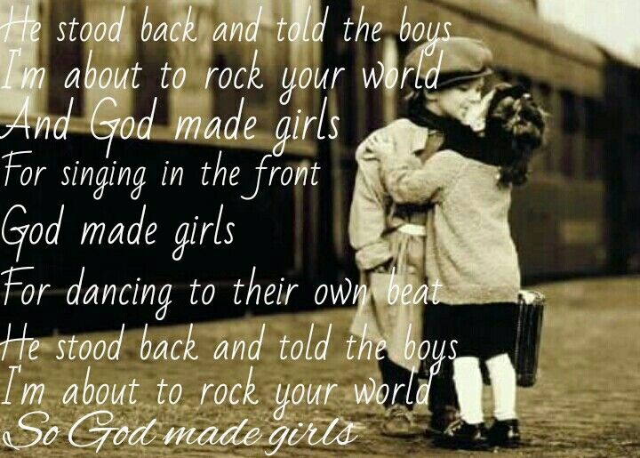 God Made Girls Raelynn Country Sayings Quotes Country Music