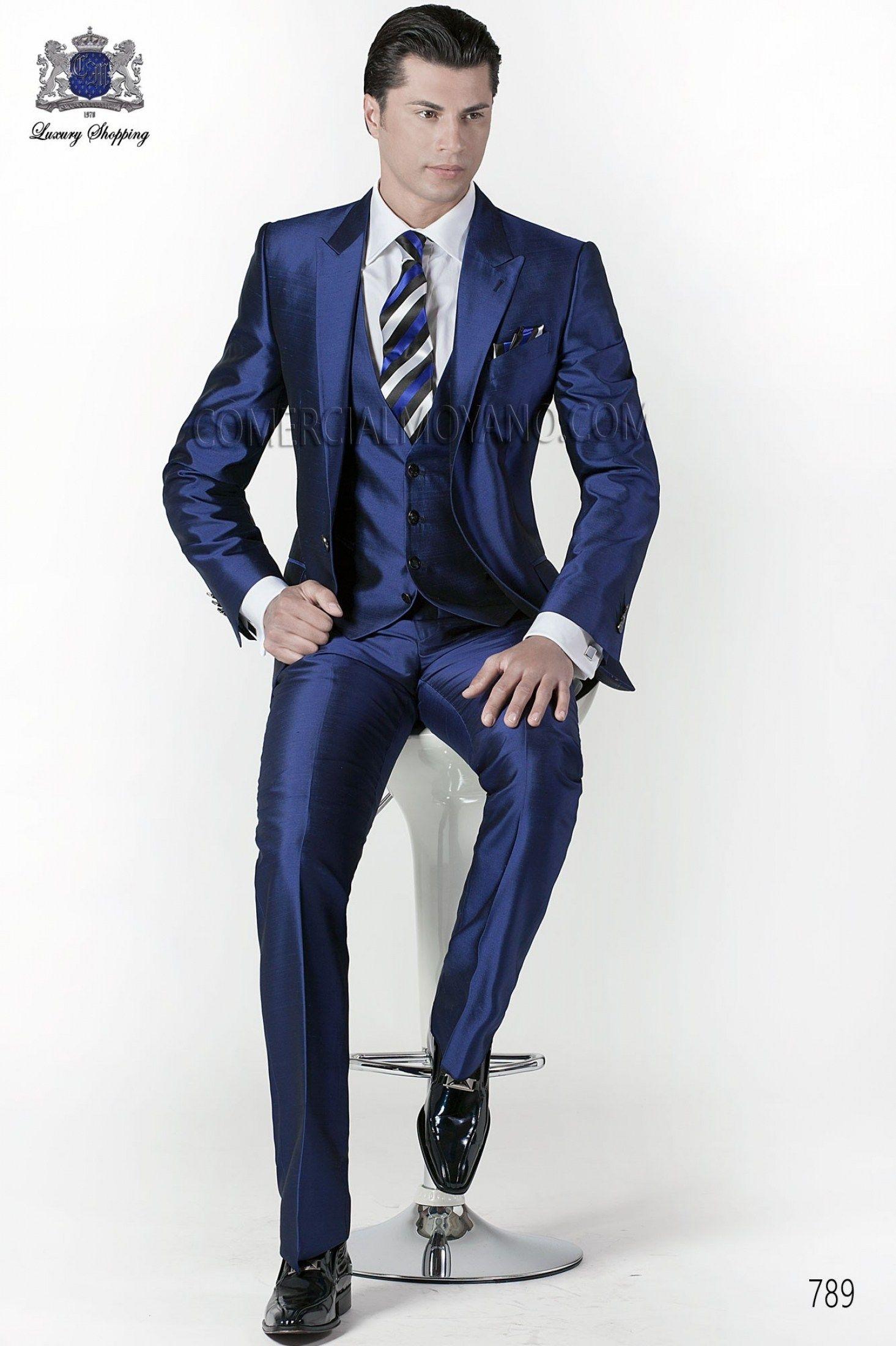 30 Beautiful Blue Suit Brown Shoes Wedding Ideas | Brown shoe ...