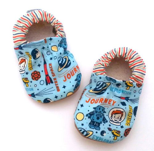 Buy Now space baby shoes outer space baby booties retro rocket...