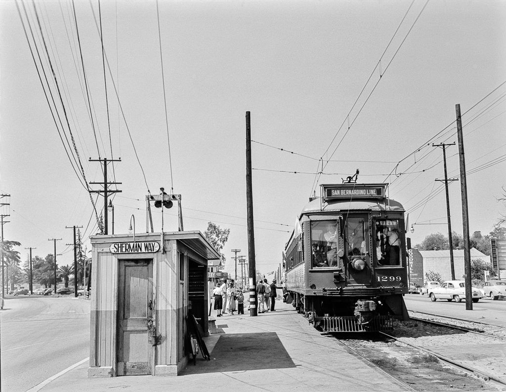 Western District Pacific Electric Railway Historical Society Historical Society Pacific Cities In Los Angeles