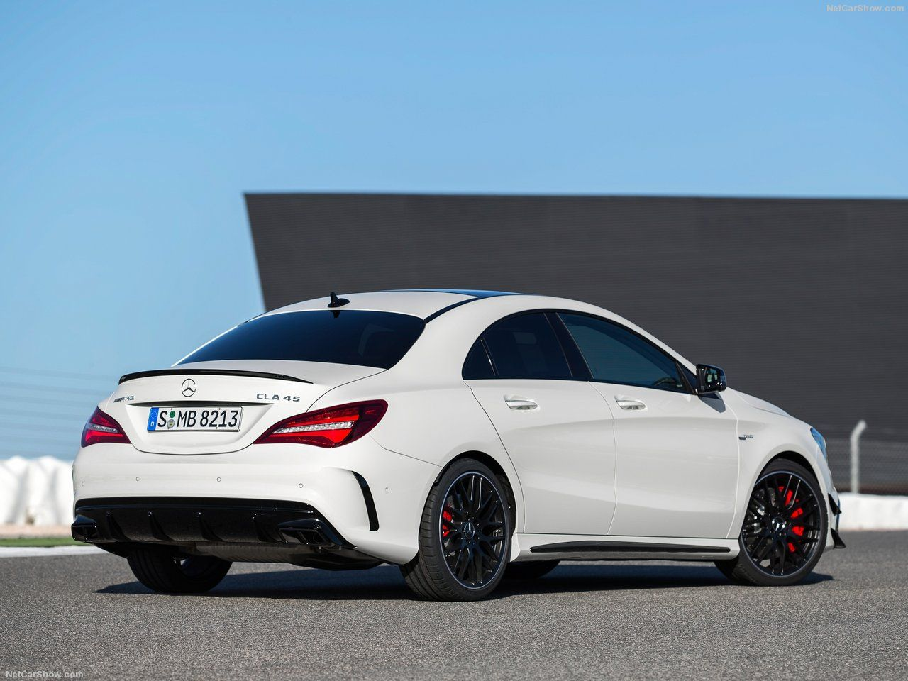 Cla 45 Amg 2017 With Images Mercedes Benz Cla 250 Cla 45