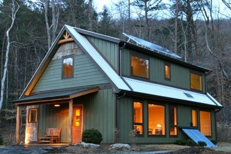 Passive And Active Solar Home Builder In Asheville Springtime Homes Passive Solar Homes Solar House Best Solar Panels