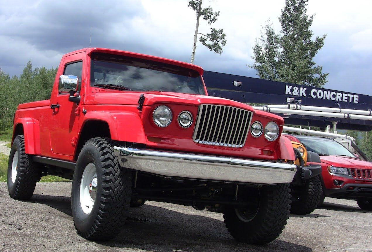Prototypes Revealed: Jeep J-12 Concept