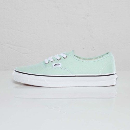mint vans. I'm debating between these, a pair of nikes or toms