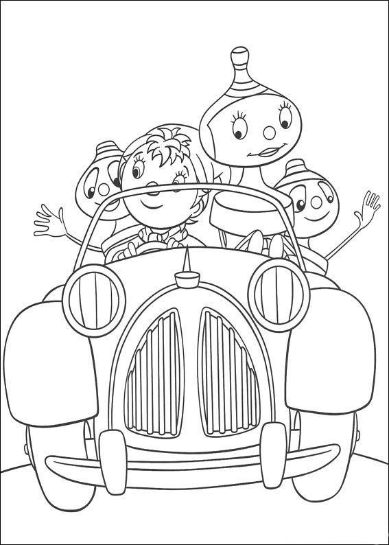 noddy 44 ausmalbilder für kinder. malvorlagen zum