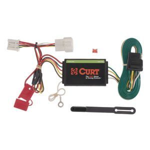 curt custom vehicle to trailer wiring harness 56158 products rh pinterest com