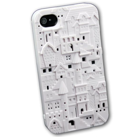 iphone silicone castelo 3d - capinhas mic