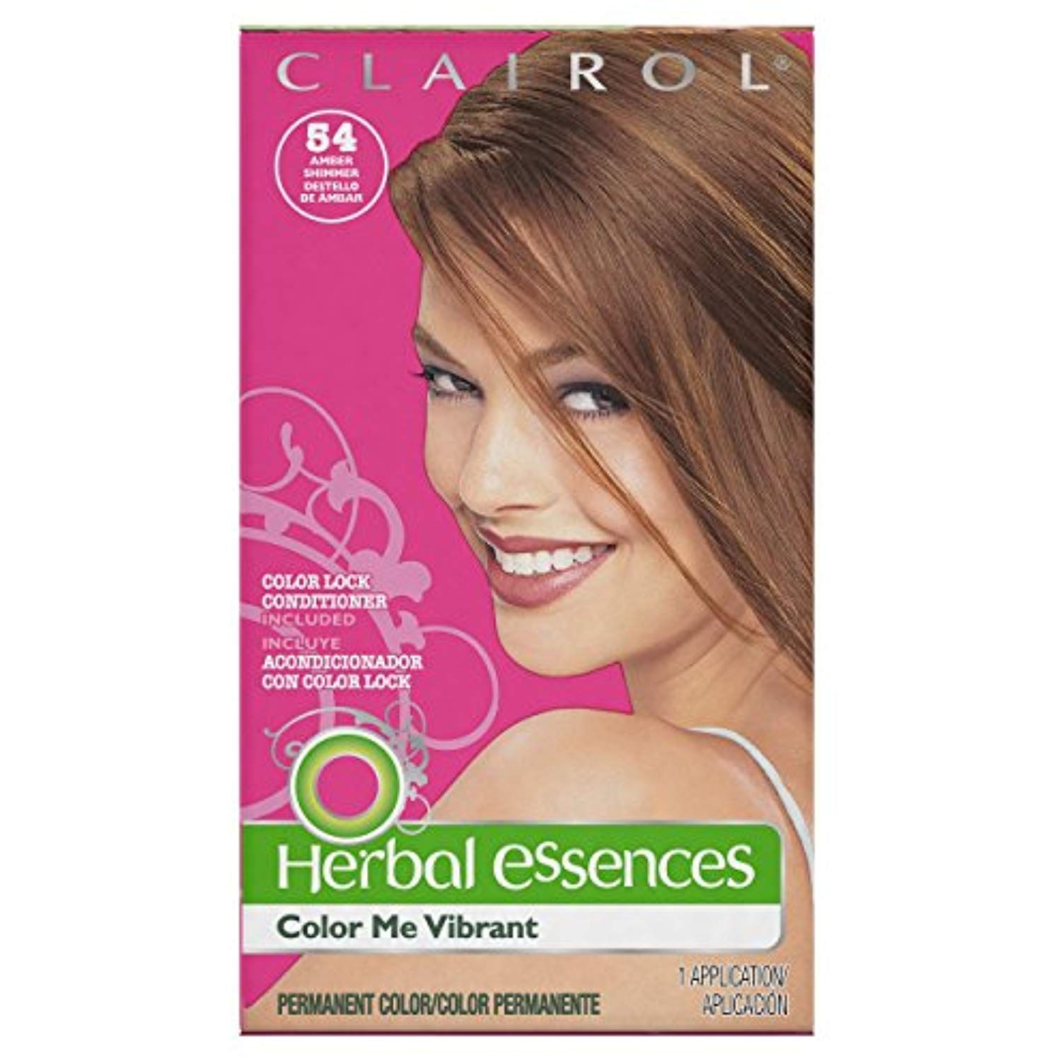 Herbal Essences Color Me Vibrant Permanent Hair Color 054 Amber Shimmer 1 Kit Packaging May Vary More Info C Herbal Essences Permanent Hair Color Color Me