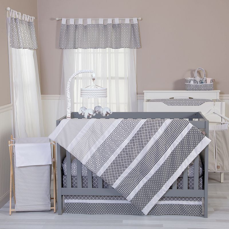 Trend Lab Ombre Grey 5-pc. Crib Bedding Set | Sewing | Pinterest