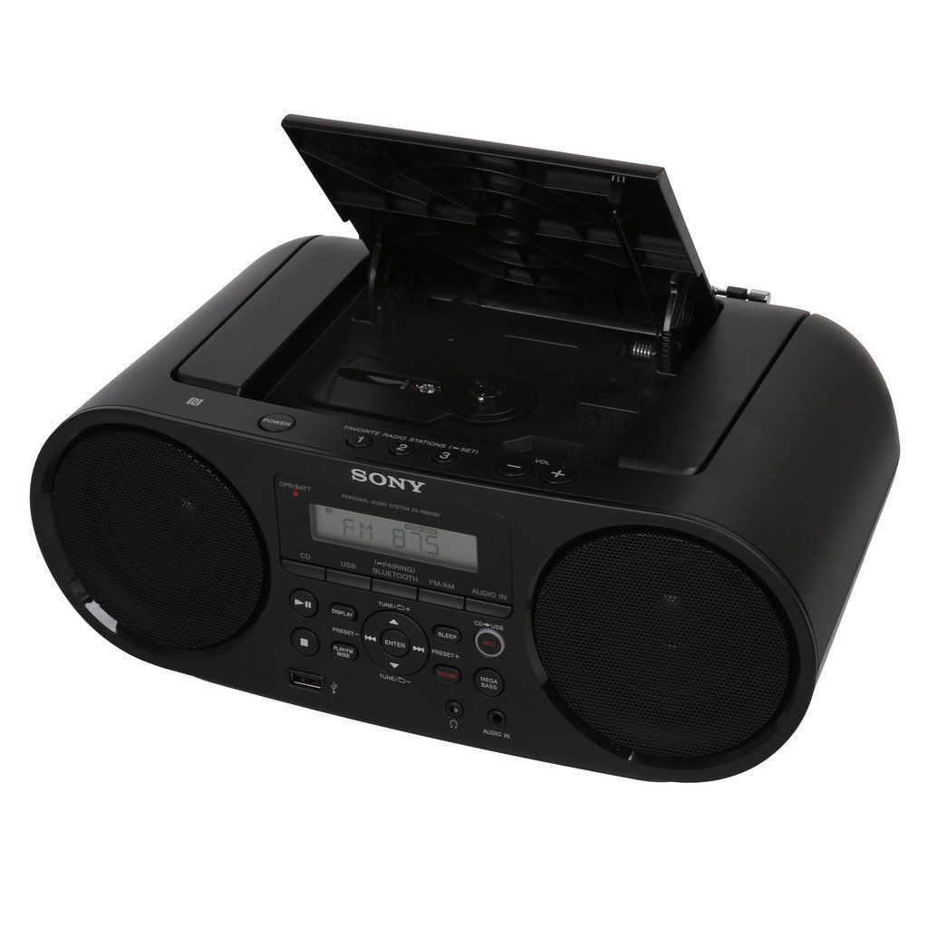 Sony Boombox ZS RS60BT with CD Player Function | Gadgets Shiksha ...