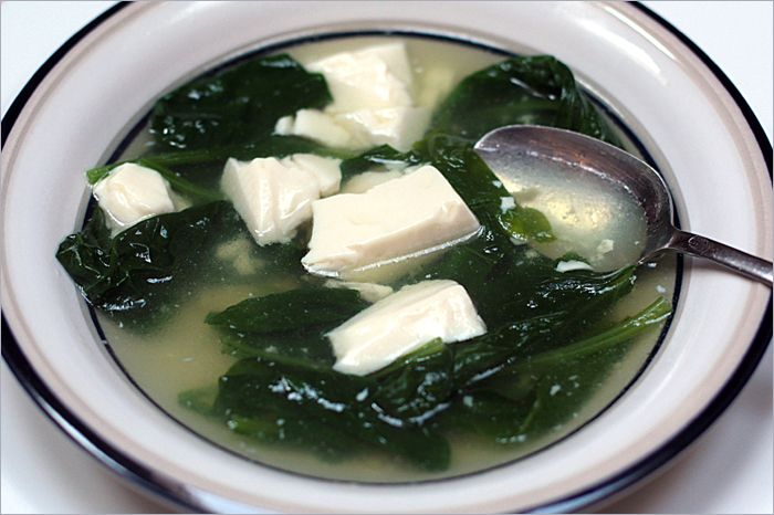 how to cook tofu in soup