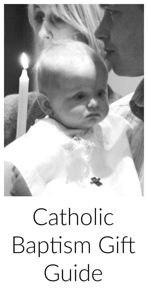 Catholic Baptism Gift Guide | Coming Up Catholic | Godparents | Christening Gifts