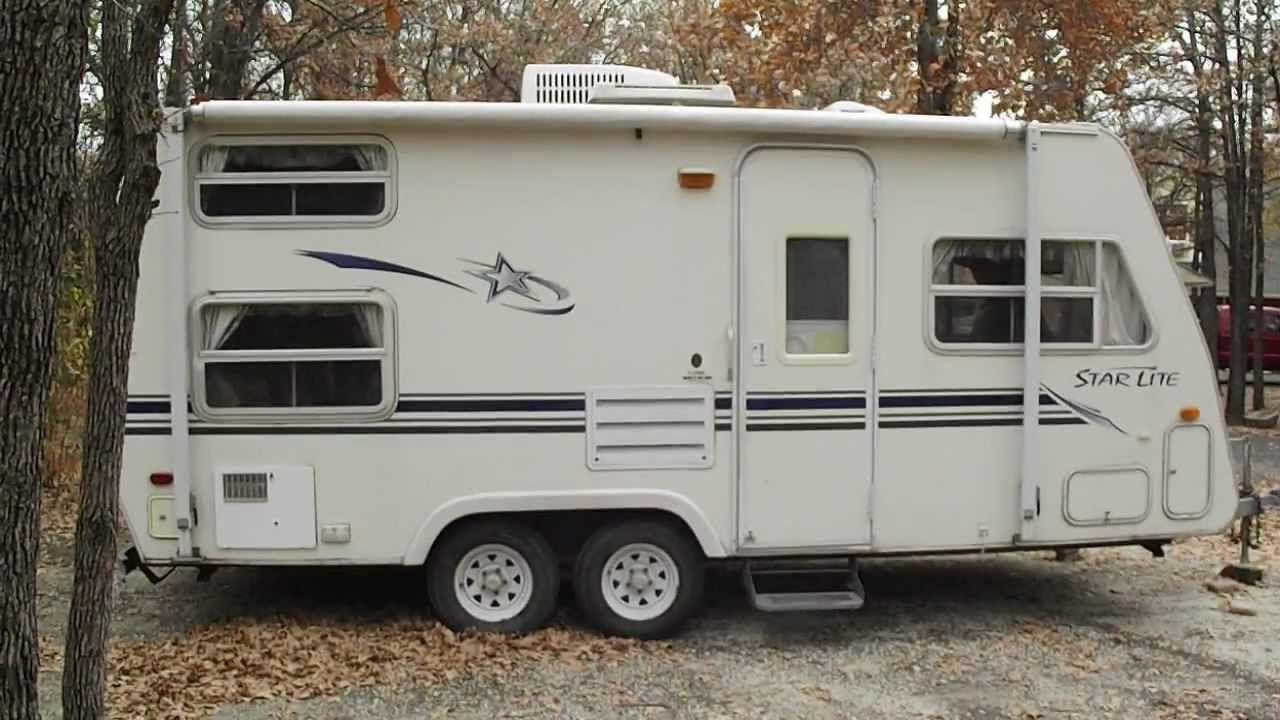 Used Pull Behind Campers Sale >> Sale Trade 2001 Starcraft 21 Star Lite Camper Travel Bumper