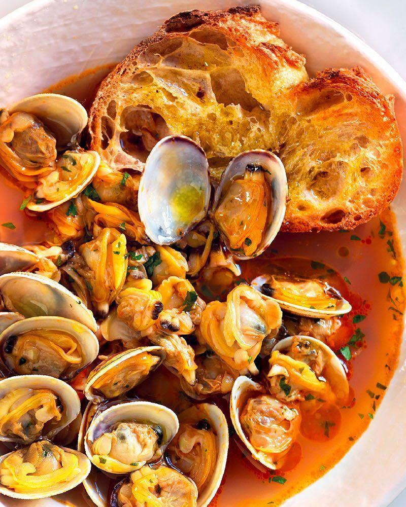Ricetta Per Vongole.Ricetta Zuppa Toscana Di Vongole La Cucina Italiana Ricetta Ricette Zuppa Di Vongole Idee Alimentari