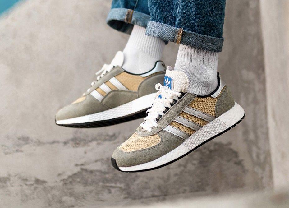 adidas Originals Marathon Tech Sneaker Schwarz Rot