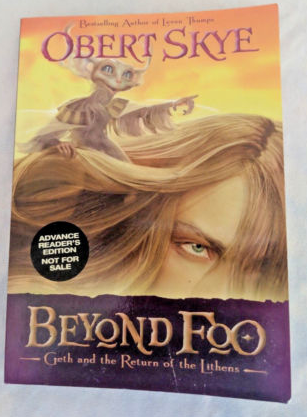 Beyond Foo Obert Skye Advance Readers Edition Lunar Wolves Shop