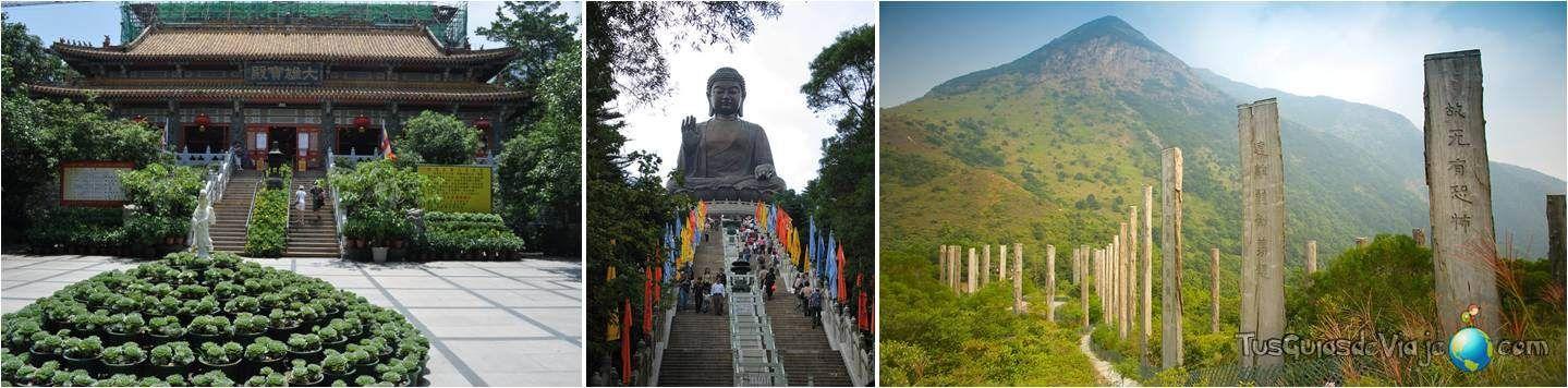hong kong - Monasterio de Po Lin - Buda Tian Tian - El sendero de la sabiduría