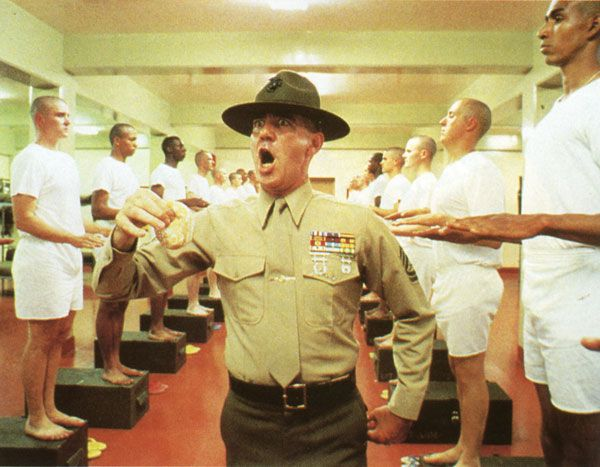 R. Lee Ermey... taking care of security for all you num-nuts