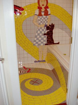 Wizard Of Oz Bathroom Traditional Other Metro By Key West Jane