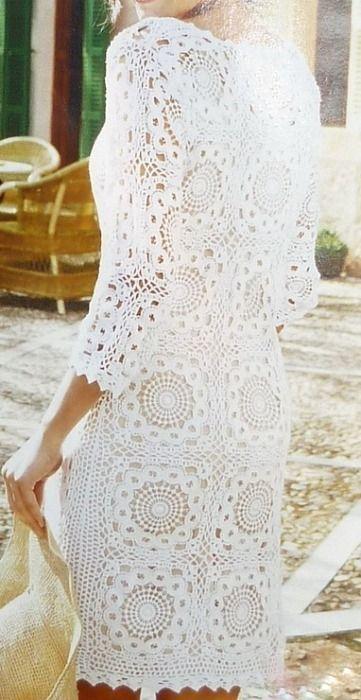 Схема вязаного вечернего платья фото 176
