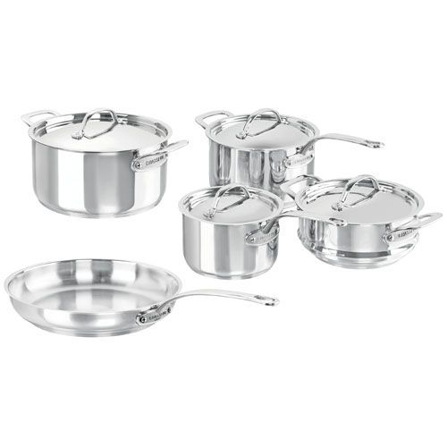 Chasseur Maison Stainless Steel 5pc Cookware Set - On Sale Now!