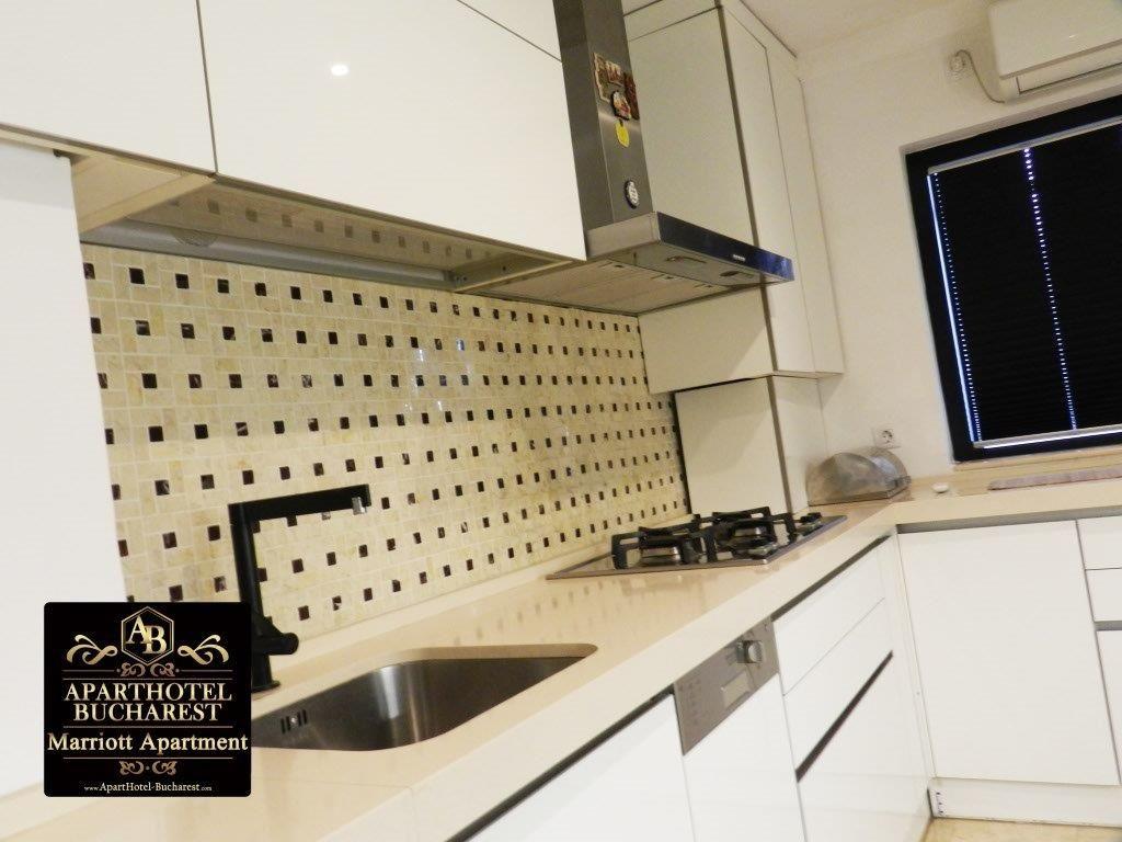 Aparthotel In Bucharest Apartment Kitchen Cabinets Home Decor