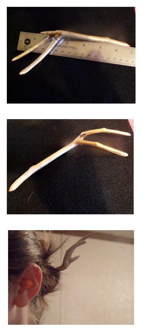 Golden Hand Hair Stick. $10.00, via Etsy. Made by me.