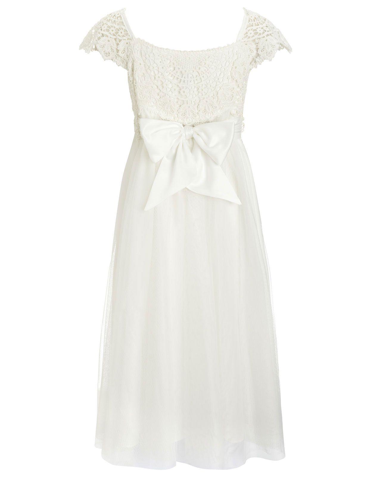 Estella Crochet Dress | Ivory | Monsoon