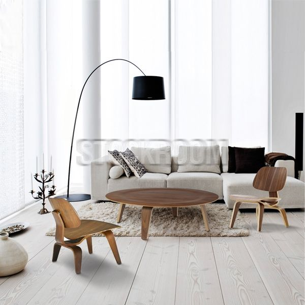 Plywood Wohnzimmer: Https://modecor.com/Eames Chair LCW Great Ideas