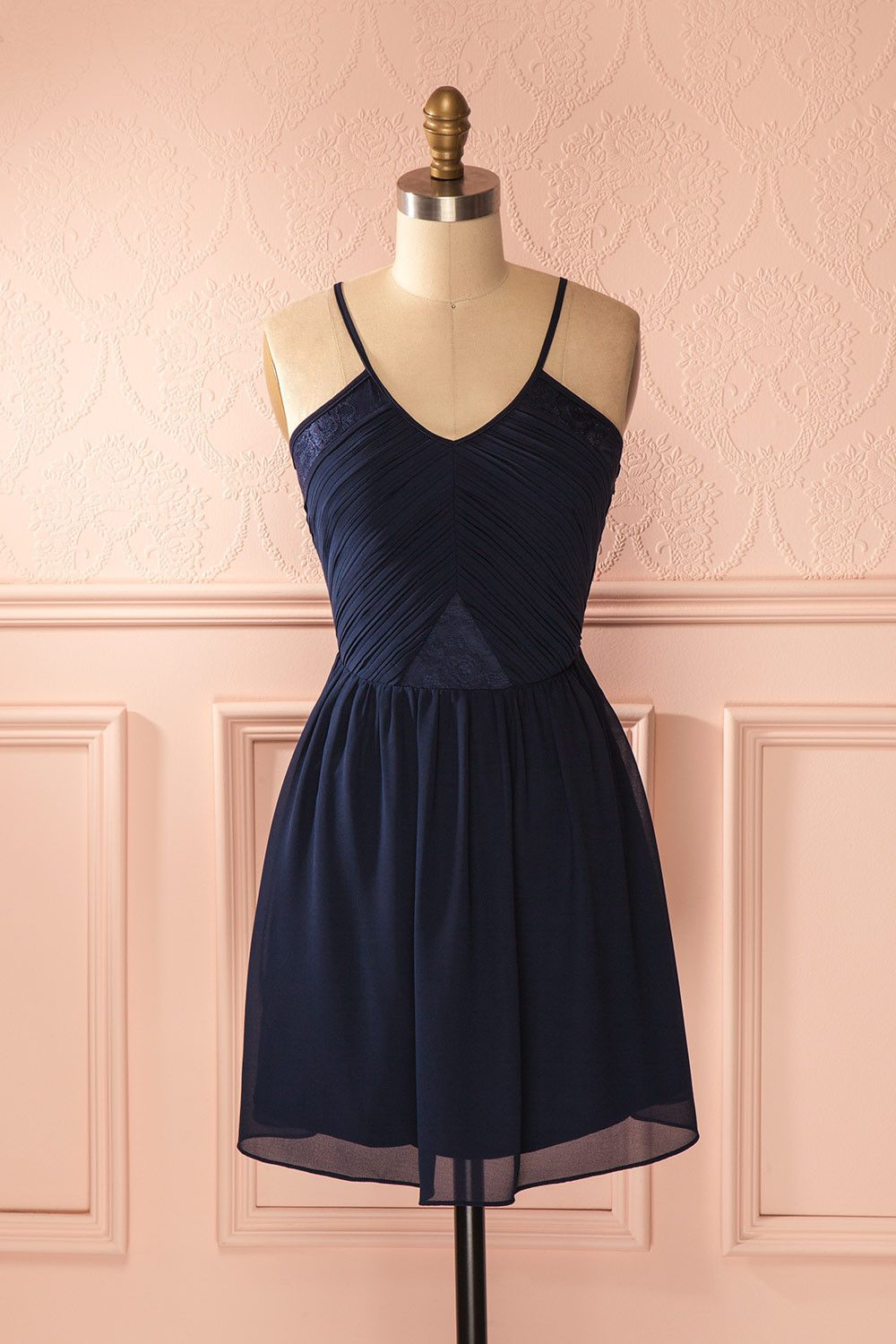 Adanna robe clothes and navy