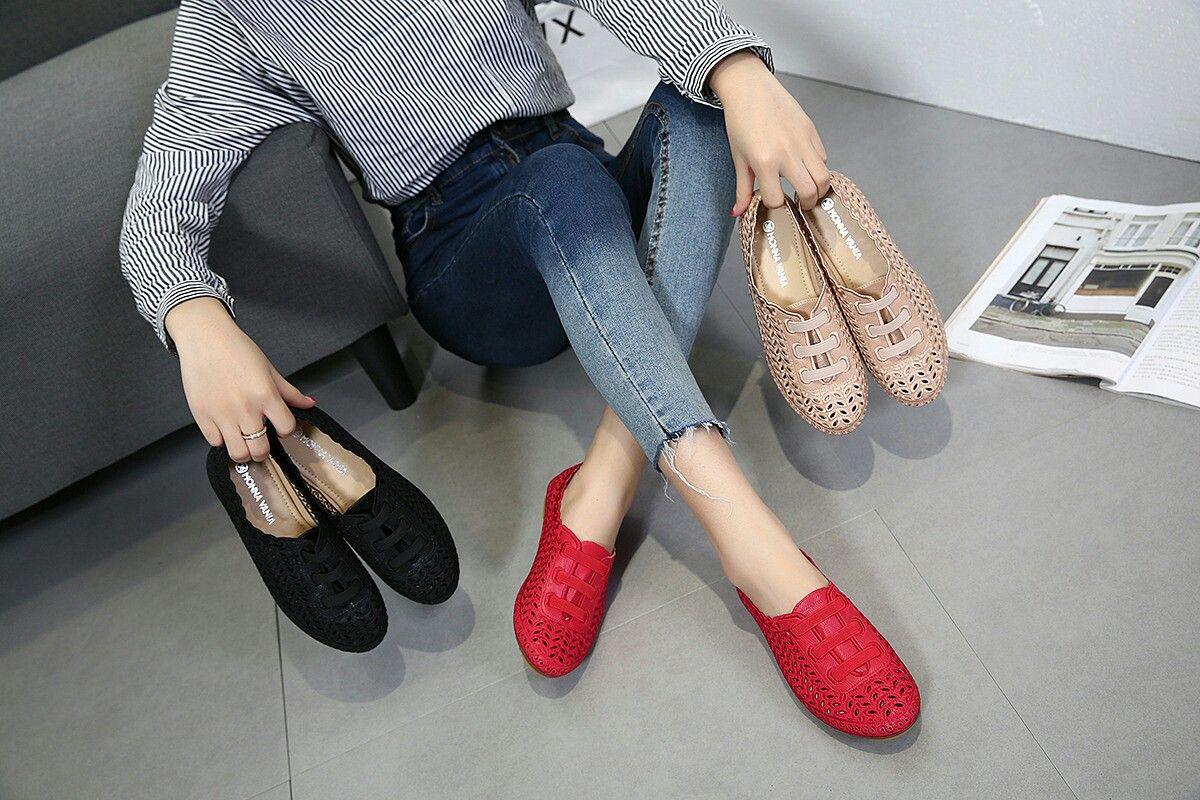 Sepatu Mv Levine Elastis M368 3762 Q28 Flat Shoes Original