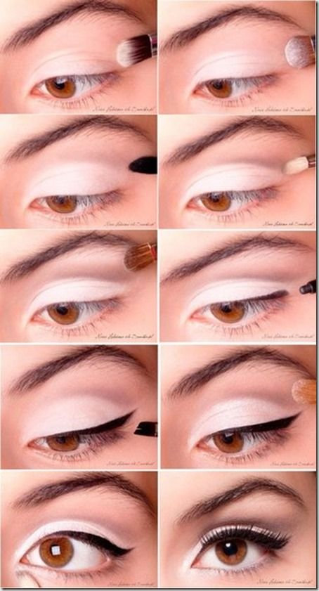 Machiaj De Zi Pas Cu Pas 8 Makeup Eye Makeup Beauty Makeup Makeup