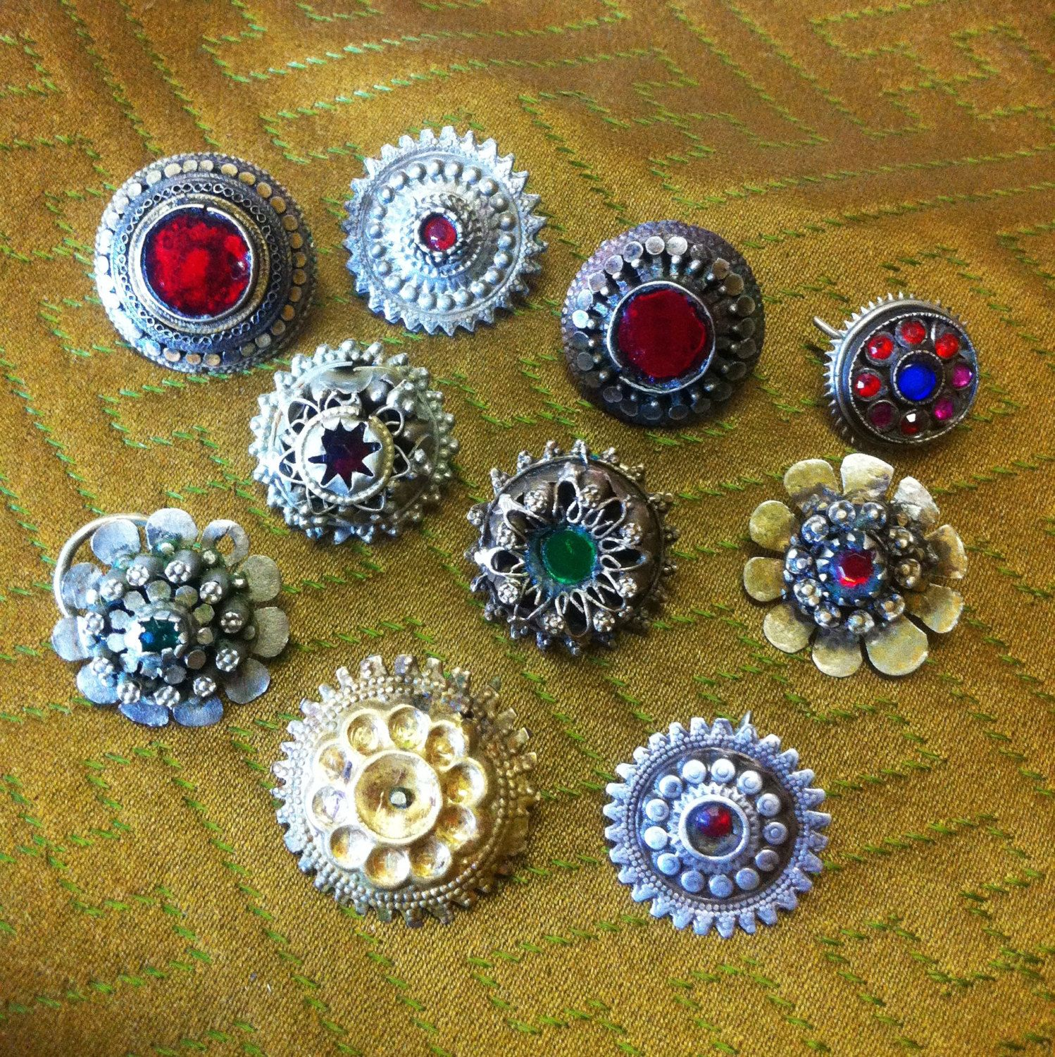 Tribal nostril ornaments. by ApogeeAdornments on Etsy, $750.00