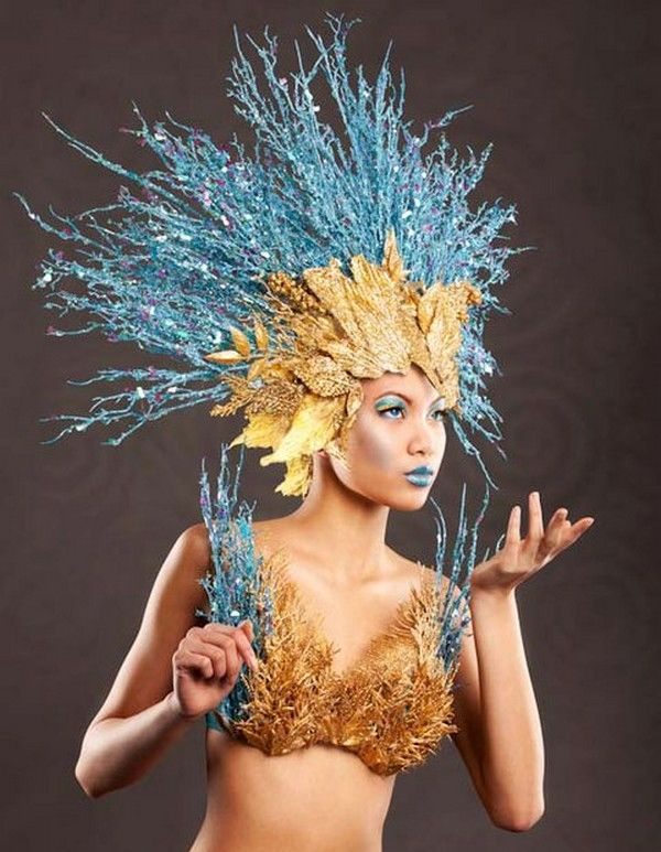 Pin by Norma Davila on Costumes | Headdress, Headpiece ...