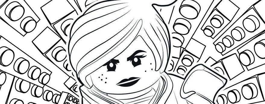 The Lego Movie Coloring Book